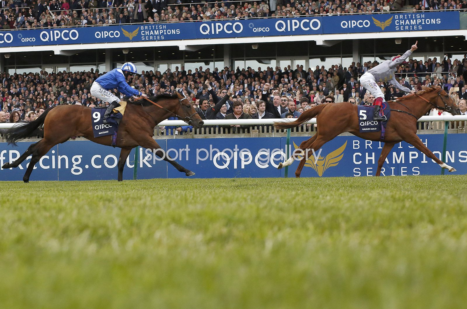 Frankie Dettori on Galileo Gold win 2000 Guineas Newmarket 2016