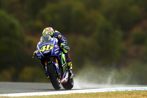 Valentino Rossi Yamah MotoGP of Spain 2017