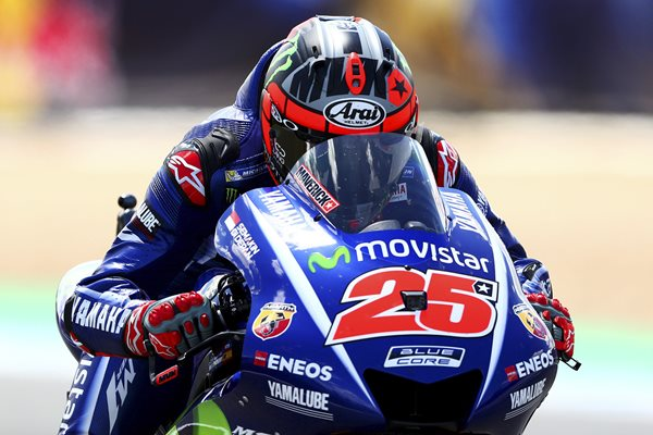 Maverick Vinales Yamaha MotoGP of Spain 2017