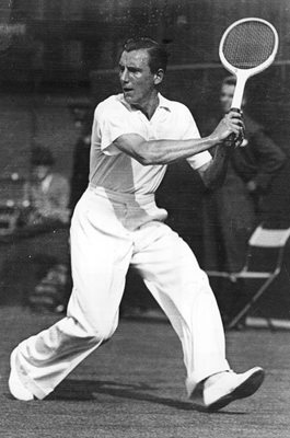 Fred Perry Wimbledon Tennis 1934