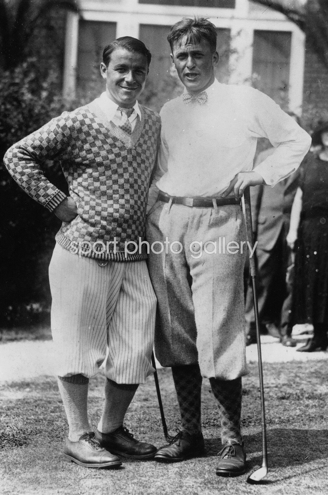 Bobby Jones & Gene Sarazen American Golf Icons