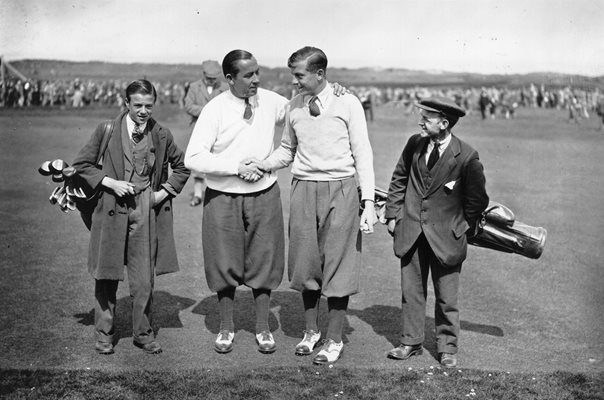 Walter Hagen & Henry Cotton British Open Muirfield