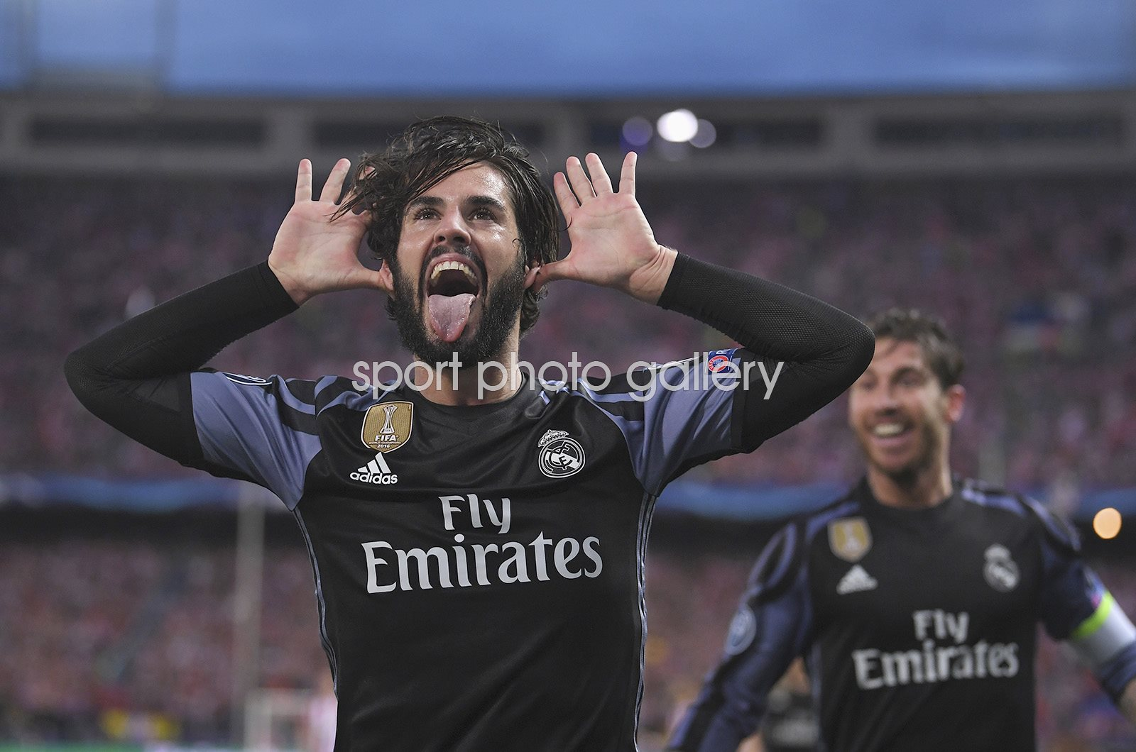 Isco of Real Madrid scores v Atletico Madrid Champions League 2017