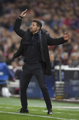 Diego Simeone Atletico Madrid v Real Madrid Champions League 2017