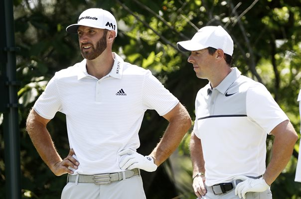 Dustin Johnson & Rory McIlroy Players Sawgrass 2017