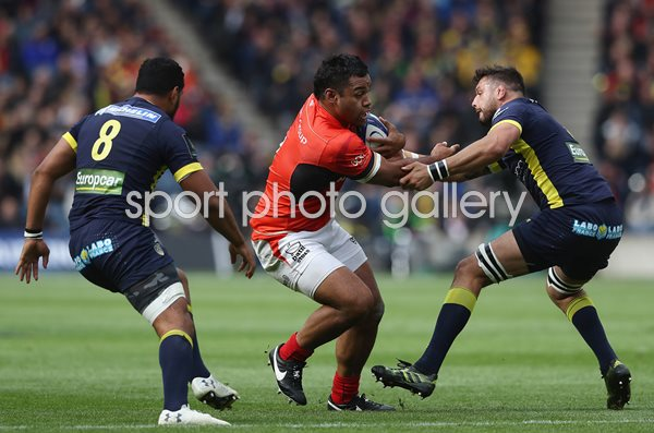 Billy Vunipola Saracens v Clermont European Final 2017