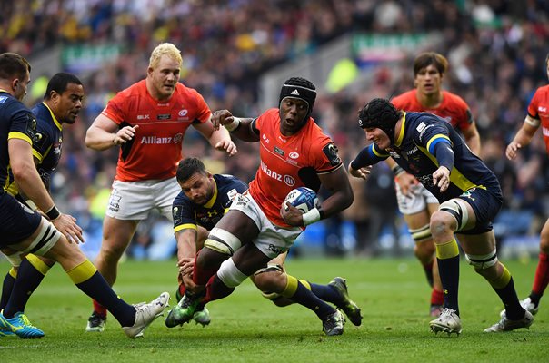 Maro Itoje Saracens v Clermont European Final Murrayfield 2017