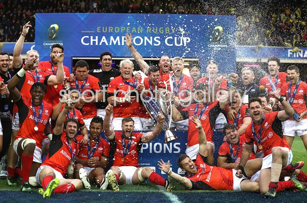 Saracens European Rugby Champions Murrayfield 2017