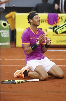 Rafael Nadal Madrid Open Champion 2017