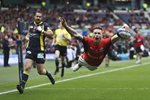 Chris Ashton Saracens scores European Cup Final 2017 Prints