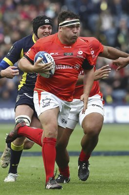 Jamie George Saracens v Clermont European Final 2017