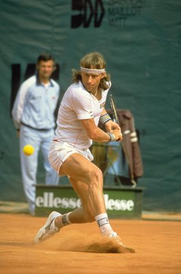 Bjorn Borg French Open Paris 1982