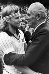 Bjorn Borg & Fred Perry Wimbledon 1978 Prints