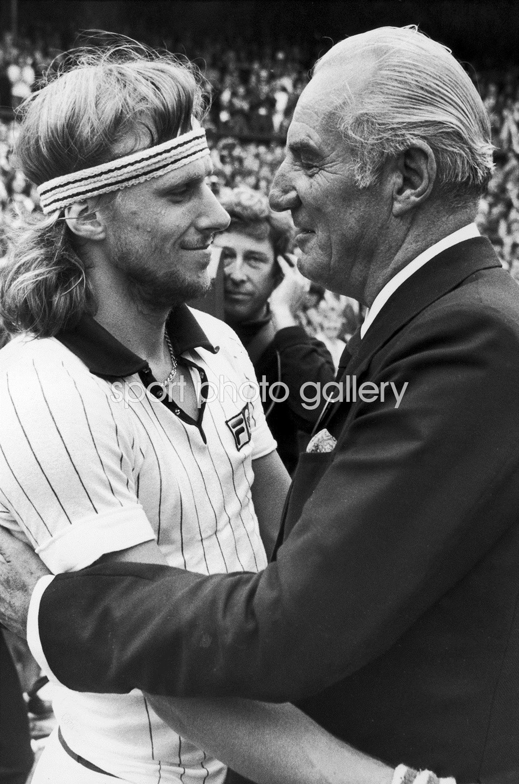 Bjorn Borg & Fred Perry Wimbledon 1978