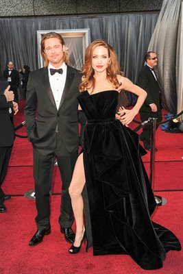Angelina Jolie and Brad Pitt 2012