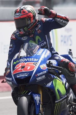 Maverick Vinales MotoGP of France 2017 Winner