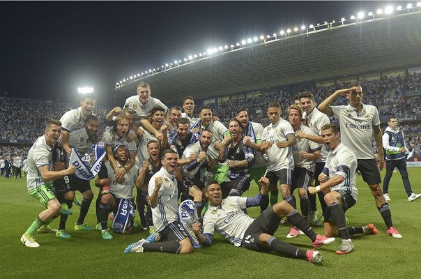 Real Madrid 2017 La Liga Champions