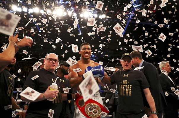 Anthony Joshua wins IBF World Heavyweight Title 2017