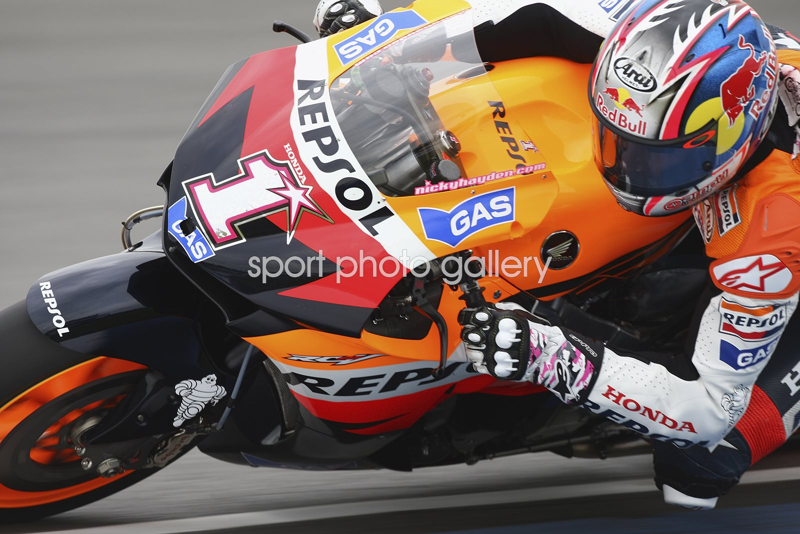 Nicky Hayden British MotoGP 2007