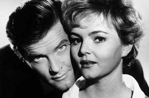 Roger Moore & Erica Rogers The Saint
