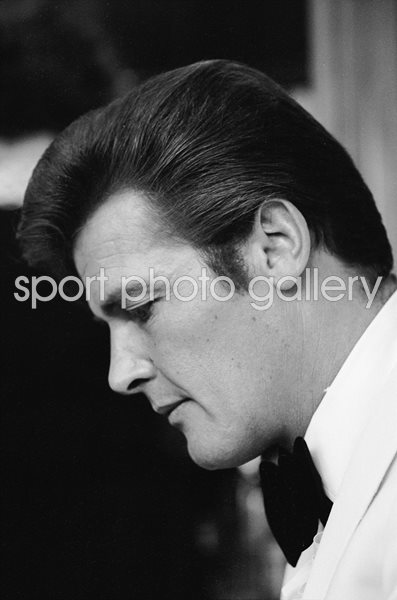 Roger Moore British Actor 1968