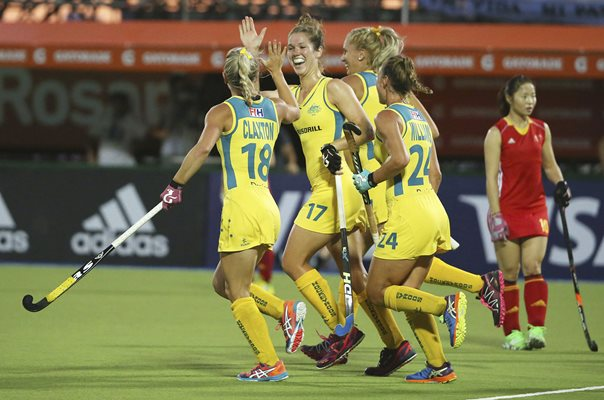 Georgina Morgan Australia Hockey World League Final 2015
