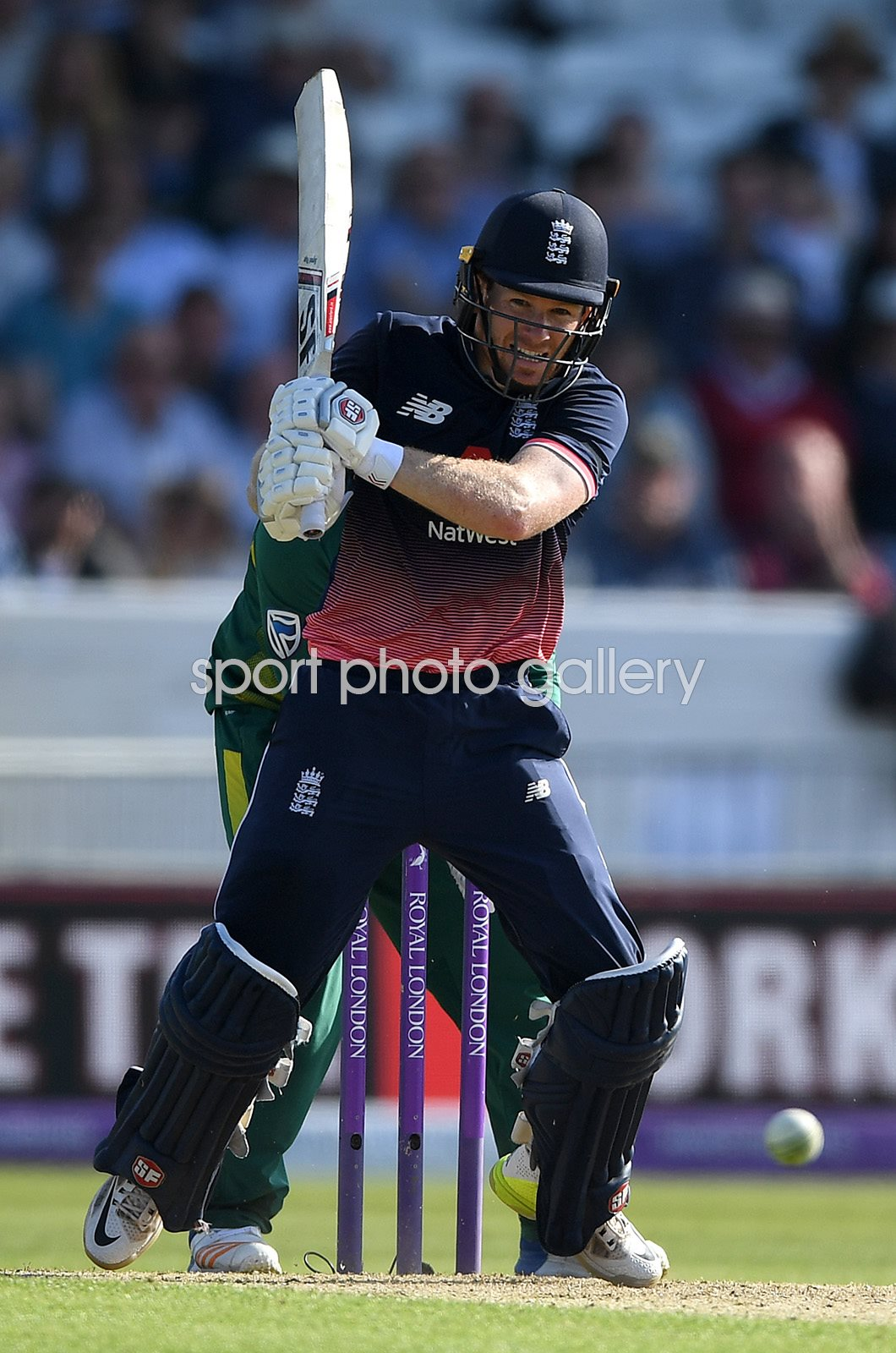 Eoin Morgan England Century v South Africa ODI 2017