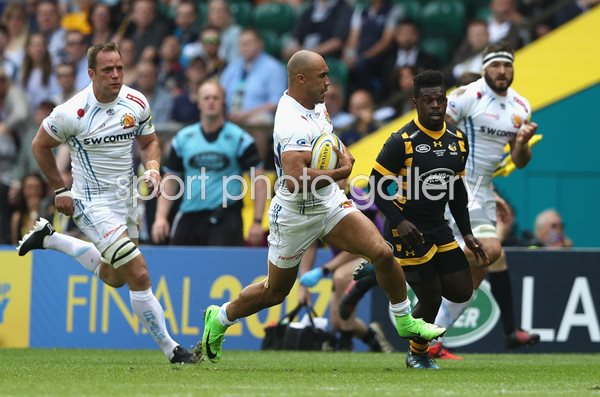 Olly Woodburn Exeter Chiefs v Wasps Premiership Final 2017