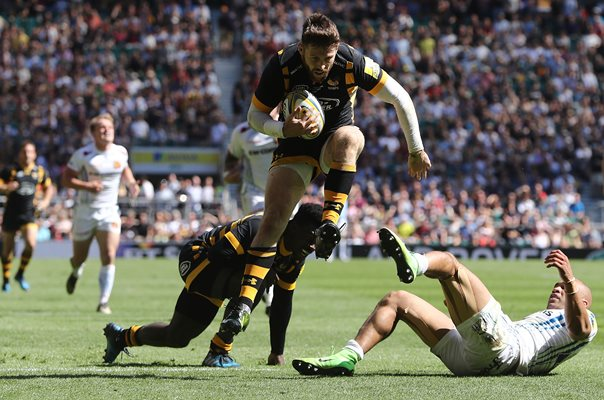Elliot Daly Wasps v Exeter Chiefs Premiership Final 2017