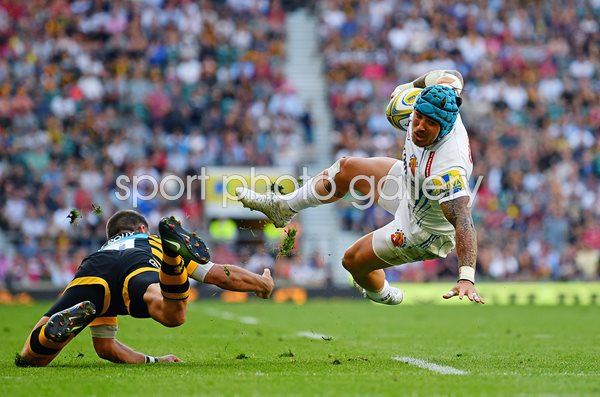 Jack Nowell Exeter Chiefs v Wasps Premiership Final 2017