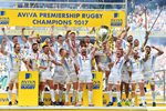 Exeter Chiefs Aviva Premiership Champions 2017 Canvas