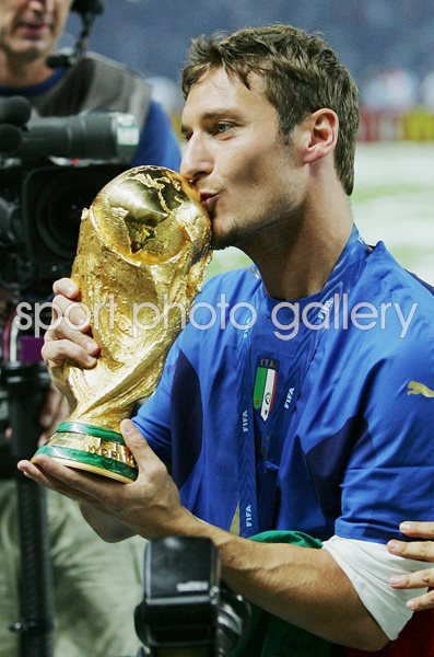 Francesco Totti Italy World Champions Berlin 2006