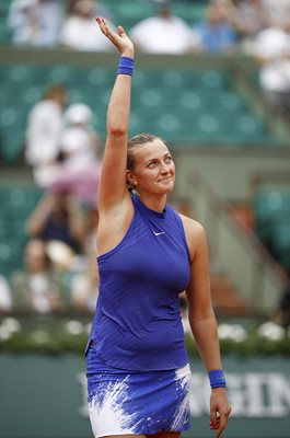 Petra Kvitova French Open Paris 2017