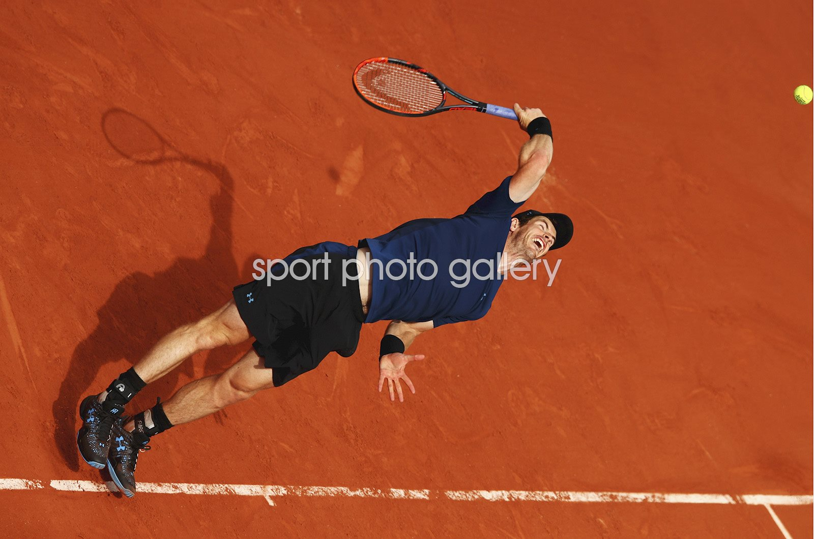 Andy Murray 2017 French Open Paris