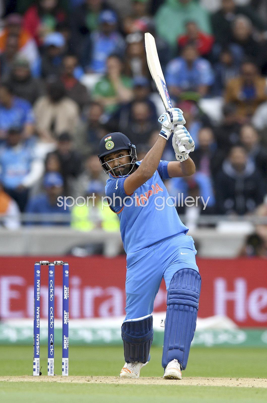 Rohit Sharma India v Pakistan Champions Trophy Edgbaston 2017