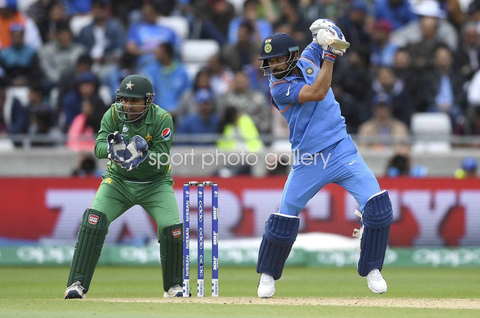 Virat Kohli India v Pakistan Champions Trophy Edgbaston 2017