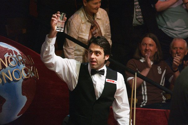 Ronnie O'Sullivan 147 break World Championships 2003