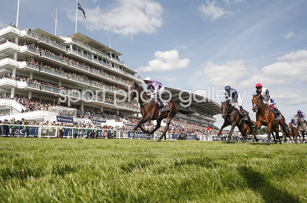 Padraig Beggy & Wings Of Eagles win Derby Epsom 2017