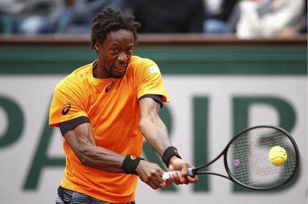 Gael Monfils French Open Paris Paris 2017