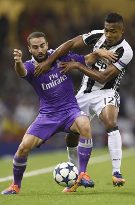 Daniel Carvajal Real Madrid Champions League Final 2017