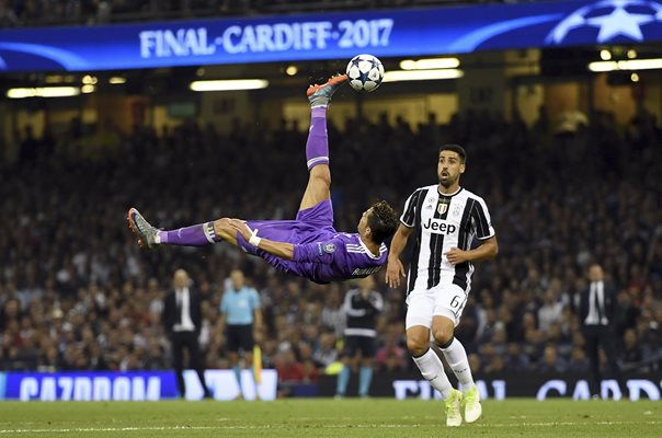 Cristiano Ronaldo Real Madrid Champions League Final 2017