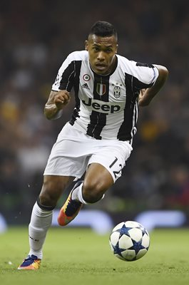 Alex Sandro Juventus Champions League Final 2017
