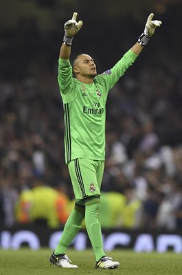 Keylor Navas Real Madrid Champions League Final 2017