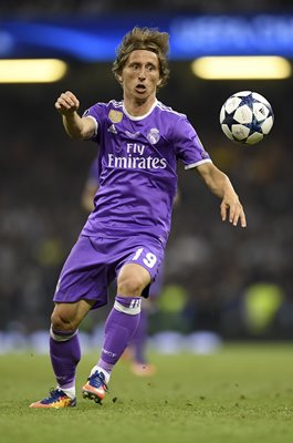 Luka Modric Real Madrid Champions League Final 2017