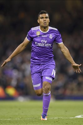Casemiro Real Madrid scores Champions League Final 2017