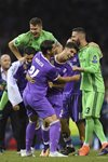Asensio Real Madrid scores Champions League Final 2017 Prints