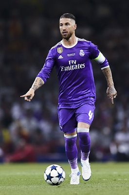 Sergio Ramos Real Madrid Champions League Final 2017