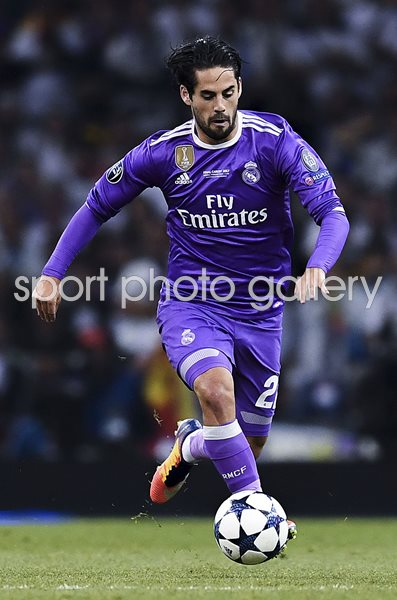 Isco Real Madrid Champions League Final 2017