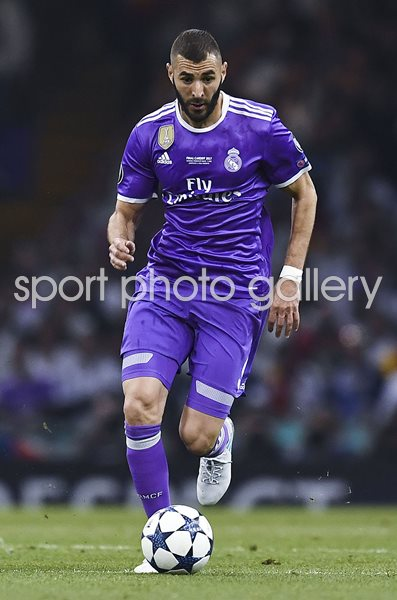 Karim Benzema Real Madrid Champions League Final 2017