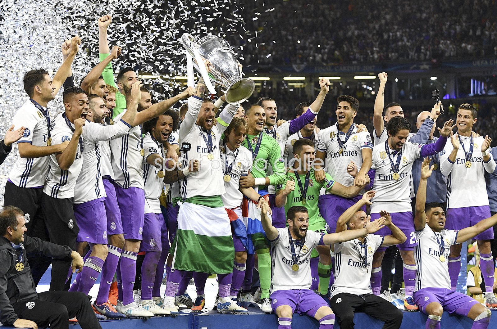 Real Madrid Champions League Winners 2017